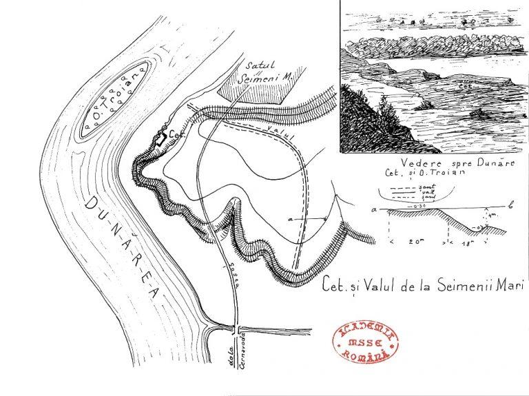 Cetate și Valul de la Seimeni