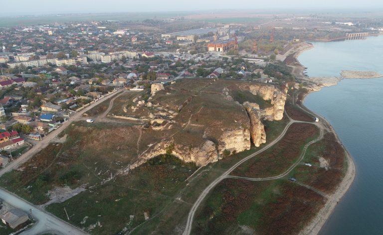 Hârșova - fotografie oblică din dronă