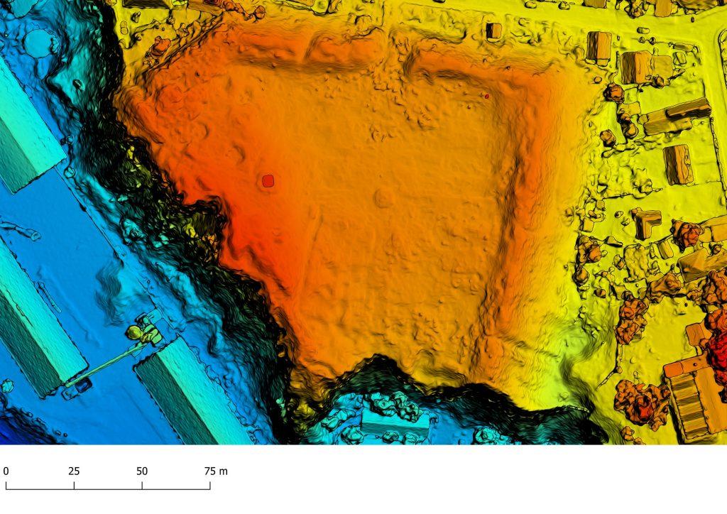 Arrubium - model digital al terenului