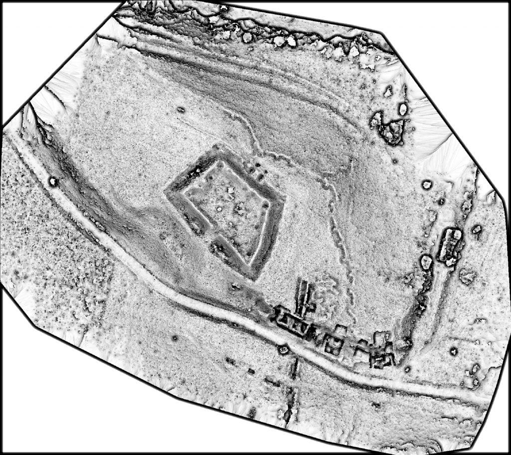Noviodunum - plan hillshade